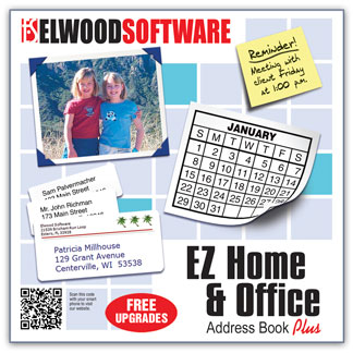 EZ Home and Office Address Book Plus
